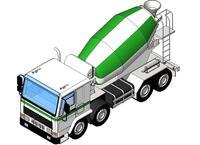 Xe Chở Bê Tông - Concrete Truck Thumb Image