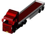 Xe Tải, Xe Chở Vật Liệu - Truck Thumb Image